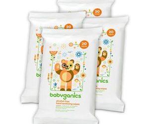 Babyganics Hand Sanitizing Wipes 4-Pack $5.67 Shipped