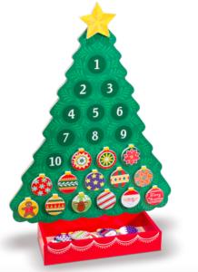 Melissa & Doug Countdown to Christmas Advent Calendar $11.99