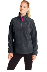 Columbia Women's Benton Springs Half Zip Fleece Pullover as low as $14.21