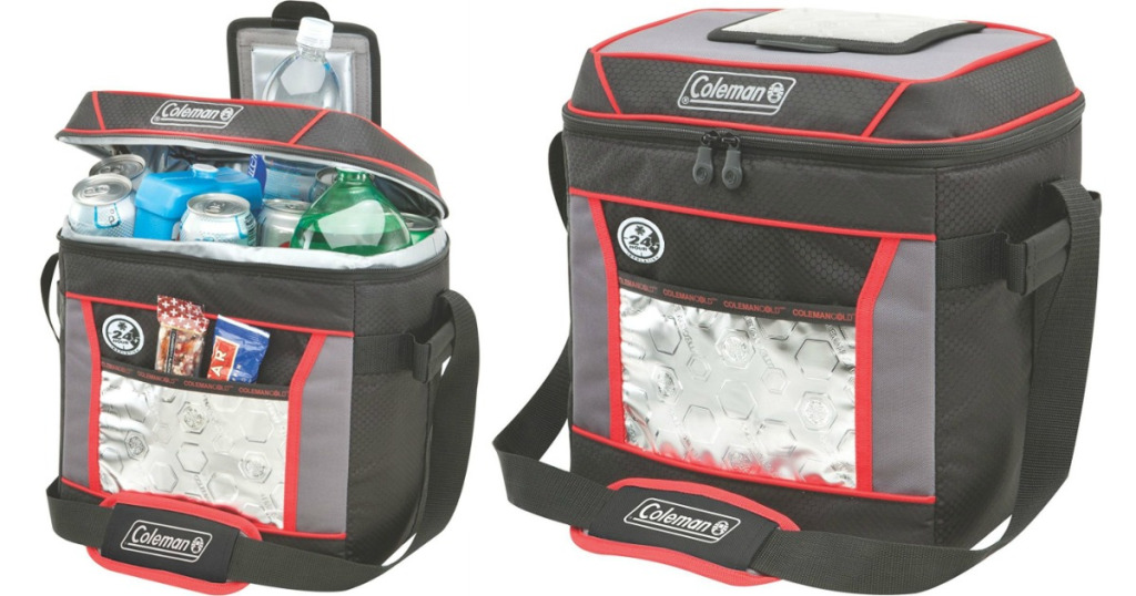 Coleman 30 Can Cooler ~ Coleman can cooler wheel n deal mama