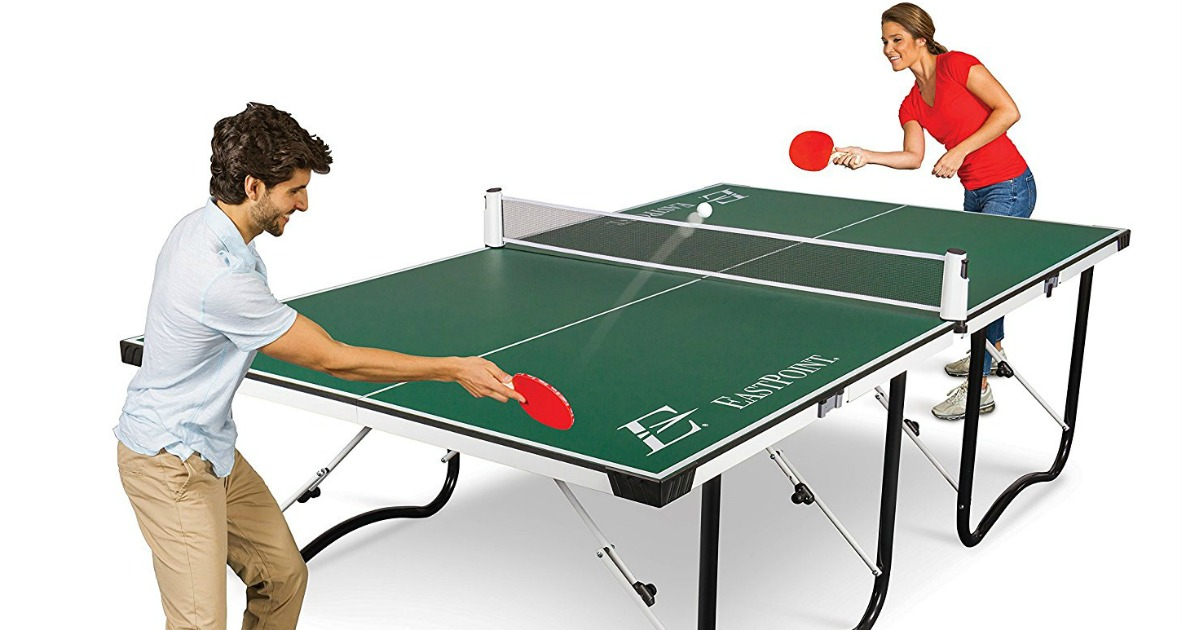 Eastpoint fold store table tennis table 142 shipped for Table tennis 99