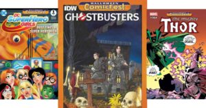 FREE Halloween Comic Book Day October 28th