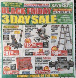 Harbor Freight 2017 Black Friday Ad