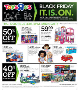 Toys R Us Black Friday Ad Is Released!