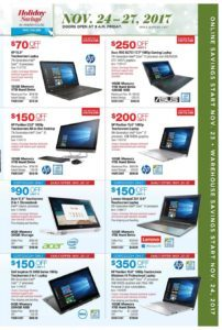 Costco Black Friday Ad Has Been Released