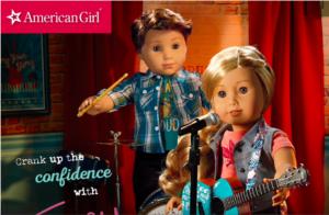 American Girl Tenney or Logan Dolls $115 & Get $30 Kohl's Cash