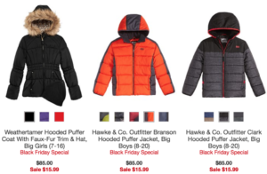 Macy's: $85 Kids' Cold Weather Jackets just $15.99!!!!