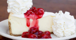 2 FREE Slices of The Cheesecake Factory Cheesecake w/ $25 Gift Card Purchase TODAY ONLY