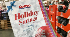 Costco Holiday Savings Deals Start November 9th