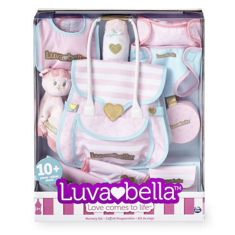 you me luvabella doll diaper bag set wheel n deal mama. Black Bedroom Furniture Sets. Home Design Ideas