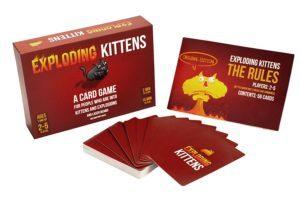 Exploding Kittens Card Game $14.99 (Reg. $19.99)