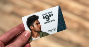 Great Clips Great Card for $9.99 Haircuts