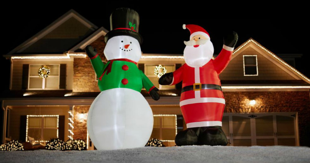 9′ Christmas Inflatables $24.88 (Reg. $59.98)