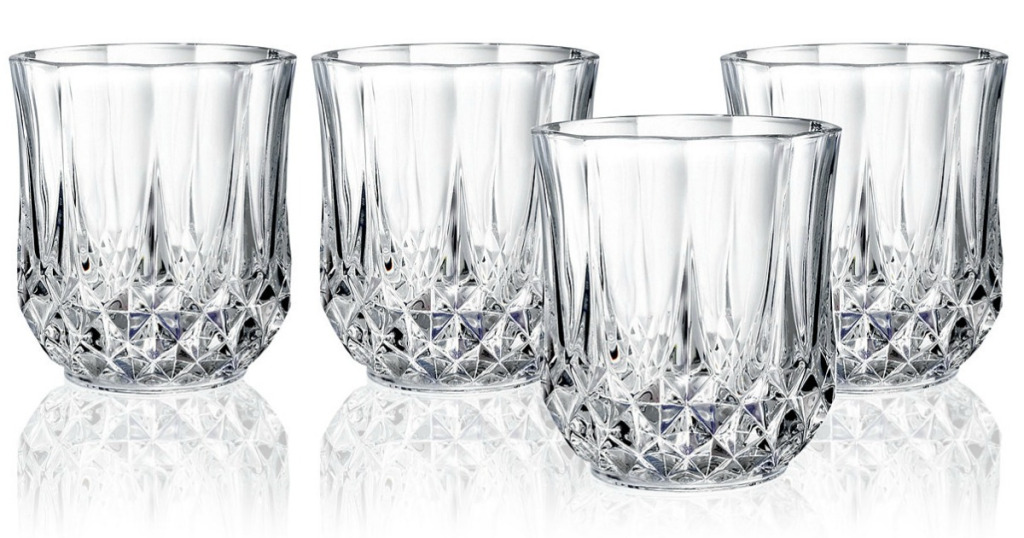 Cristal D Arques Old Fashioned Glasses