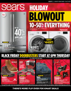 Sears Black Friday Ad Has Been Released