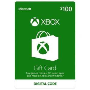 $100 Microsoft Xbox eGift Card $80