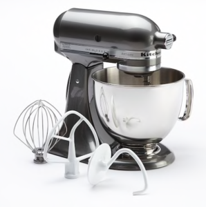 KitchenAid Artisan 5-Quart Stand Mixer $130.99 for Kohls Card holders