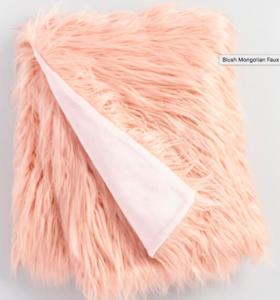 Cost Plus World Market Faux Fur Throw $16.99 (Reg.$69.99)