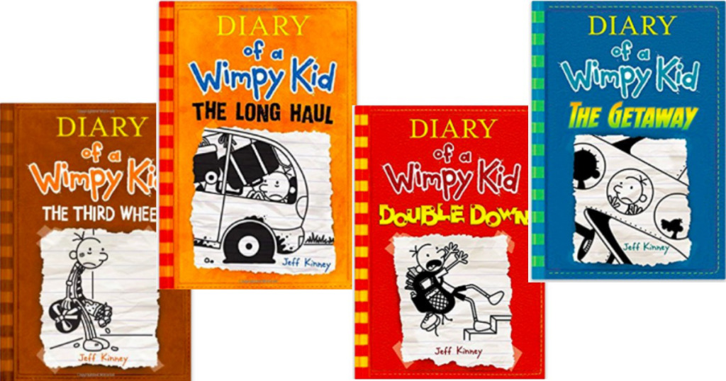Diary of a wimpy kid hardcover books starting at for Diary of a wimpy kid crafts