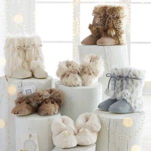 Pottery Barn Teen Faux-Fur Slippers $14.99 Shipped (Reg. $39.50)