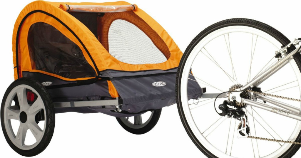 Pacific Instep Quick N Ez Double Bicycle Trailer 66 32
