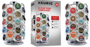 Keurig 36 K-Cup Pod Carousel $9.99 Shipped