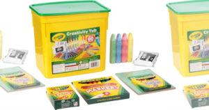 Crayola 80-Piece Tub $9.16