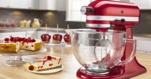KitchenAid 5 Quart Stand Mixer w/ Glass Bowl $174.99 Shipped (Reg $349.99)