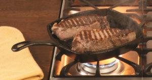 Lodge Cast Iron Pre-Seasoned Grill Pan $11.05