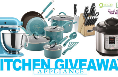 HUGE Kitchen Appliance Giveaway!!