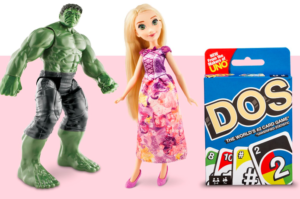 $10 Off $50 or $25 Off $100 Toys & Games Purchase In-Store & Online at Target Starting 3/25