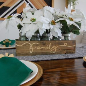 Personalized Engraved Solid Wood Centerpiece $22.99 (Reg. $45)