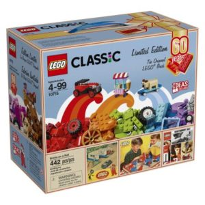 LEGO Classic Bricks on a Roll 60th Anniversary Limited Edition Set $25