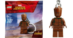 Free LEGO Groot Keychain w/ $14.99 LEGO Marvel Purchase at Target