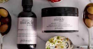 50% off Philosophy Ultimate Miracle Worker Oil and 120-Count Pads & Free Shipping