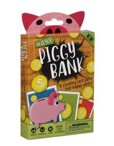 Hoyle Piggy Bank Children's Card Game $4.66