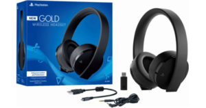 Sony PlayStation Gold Wireless Headset $69 Shipped (Reg. $85)