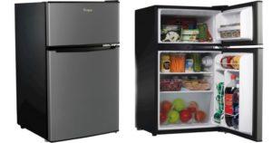 Whirlpool Stainless Steel Mini Refrigerator $139.99 Shipped (Reg.$199.99)