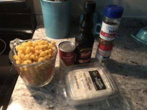 CHEESY GROUND BEEF PASTA SKILLET