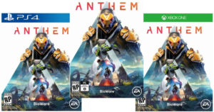 Pre-Order Anthem Games & FREE $10 Reward