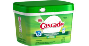 Cascade Dishwasher Detergent 60 Count $6.16 Shipped After Target Gift Card