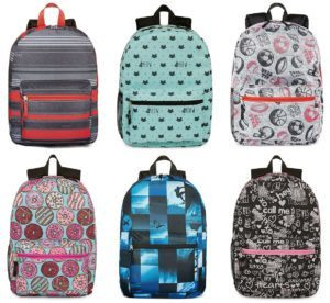 City Streets Backpacks Just $4.50 Each