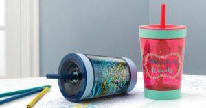 Contigo Spill-Proof Kids Tritan Straw Tumbler $6.79