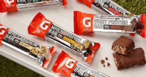 Gatorade Whey Protein Bars 18-Count Variety Pack $12.22 Shipped
