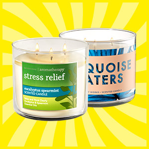 Bath & Body Works 3-Wick Candles $8 Each (Reg. $24.50)