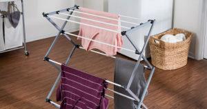 Honey-Can-Do Large Folding Steel Drying Rack $15.25 (Reg.$34.99)