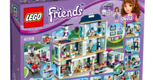 LEGO Friends Heartlake Hospital $74.99 Shipped (Reg.$99.99)