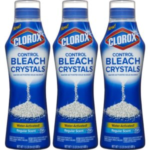 Clorox Control Bleach Crystals 3 Pack $7.74 Shipped