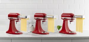 KitchenAid 3-Piece Pasta Roller & Cutter Attachment Set $95.99 (Reg.$159.99)