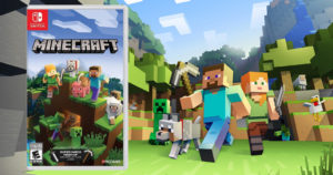 Minecraft Nintendo Switch Video Game $19.99 (Reg.$29.99)